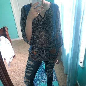 African/ gypsy inspired Tunic